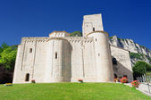 Abbey of San Vittore alle Chiuse, Genga, Ancona, Marche, Italy — Stock Photo