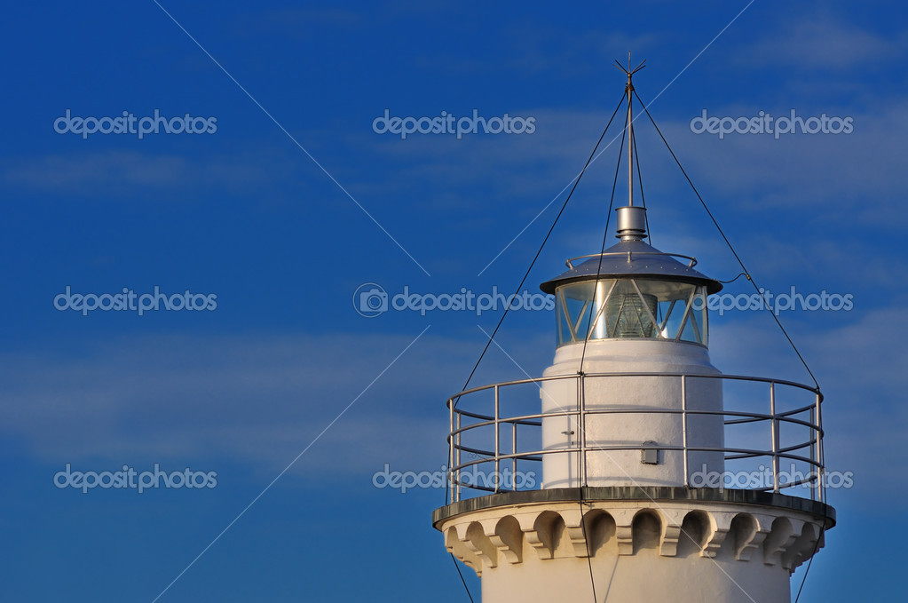 View of the Lighthouse of Cesenatico, Emilia Romagna, Italy  Stock Photo #12852371