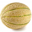 Melon on white background — Stock Photo