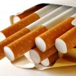 Stock Photo: Cigarettes pack