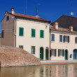 View of Comacchio, Ferrara, Emilia Romagna, Italy — Stock Photo