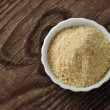Bread crumbs - pangrattato — Stock Photo