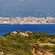 View of Alghero, Sardinia, Italy - Stock Photo