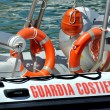 Italian Coast Guard - Stock Photo