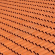 Roof tiles of terracotta — Stock Photo #14124739