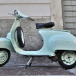 Classic Italian scooter of 1965 — Stock Photo #14124865