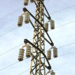 Electric powerline - Stock Photo