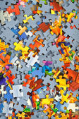 Colorful puzzle — Stockfoto