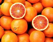 Orangen von sizilien — Stockfoto