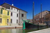 View of Comacchio, Ferrara, Emilia Romagna, Italy — Stock Photo
