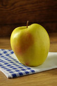 Golden apple typical of Trentino Alto Adige, Italy — Stock Photo