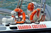 Italian Coast Guard — Stock Photo