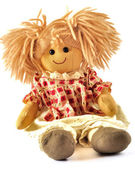 Allegra rag doll — Stock Photo