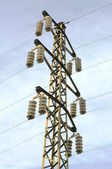 Electric powerline — Stock Photo