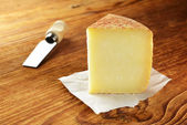 Pecorino, typical italian cheese — Stock Photo