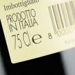 Label of a bottle of italian red wine — ストック写真 #19140337