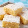 Semolina cake with coconut — Stock Photo #13859552