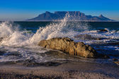 Table Mountain Sunrize — Stock Photo