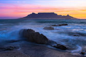 The colors of Table Mountain — ストック写真