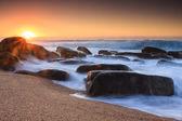 Sunrise flair — Stock Photo