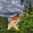 Stock Photo: Palace in Rogalin