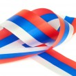 Curl of Russian flag — Stock Photo