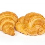 Постер, плакат: Two croissants
