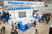 Panasonic stand — Stock Photo