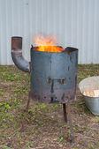 Pilaf stove — Fotografia Stock