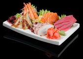Sashimi assortment — Stock Photo