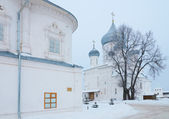 Cathedrals in the Nikitskiy Monastery — Foto de Stock