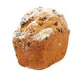 レーズンと 1 つのケーキ — ストック写真