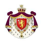 Norway, coat of arms — Stock Photo