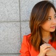 Asian Young Business Woman's Portrait — Stock Photo #13485535
