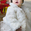 Asian little girl — Stock Photo