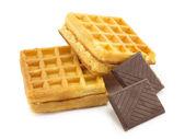 Wafer, chocolate — Stock Photo