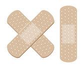 Adhesive Bandage — Stock Vector