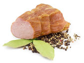 Smoked ham — Stock Photo