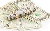 Pengar, dollar — Stockfoto