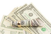 Geld, dollar — Stockfoto