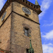 Stock Photo: Old clock tower of Prague