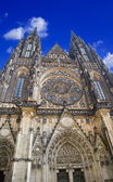 St Vitus Cathedral Prague — Stock Photo