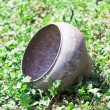 Iron pot — Stock Photo