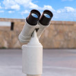 Binocular telescope — Stock Photo