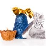 Christmas, bag, candle, bell — Stock Photo #34346191