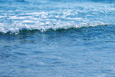 Sea shore with waves — Stock Photo