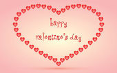 Happy valentine's day — Stockvector