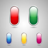 Button color icon — Stok Vektör