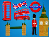 London background — Stock Vector