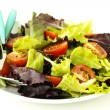 Fresh salad on a plate — Stock Photo